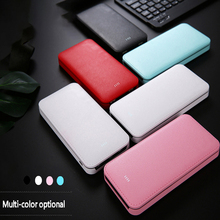 20000mAh power bank Ultra-thin charging treasure Fashion youth version of large-capacity mobile power For xiaomi For Huawei Top