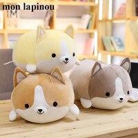 60cm cute corgi dog plush toy stuffed animal puppy soft doll kids toys dog pillow children birthday christmas gift drop shipping