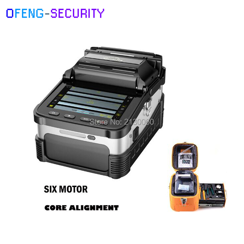 SM&MM Automatic Fusion Splicer Optical Fiber AI-7 Fusion Splicer Fiber Optic Splicers FTTH Fiber Optic Splicing Machine