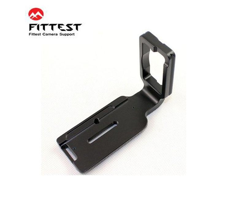 FITTEST FD800L Originální vertikální rychlospojka L Držák držáku na ruku držák na ruku Nikon D800 D800E Kompatibilní s Arca-swiss RRS