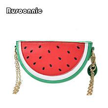 Bolsa Cupcake Women Bag Girl Messenger Bags lemon Women Leather Handbags Watermelon Clutch Bolsa Feminina Bolsas Feminina