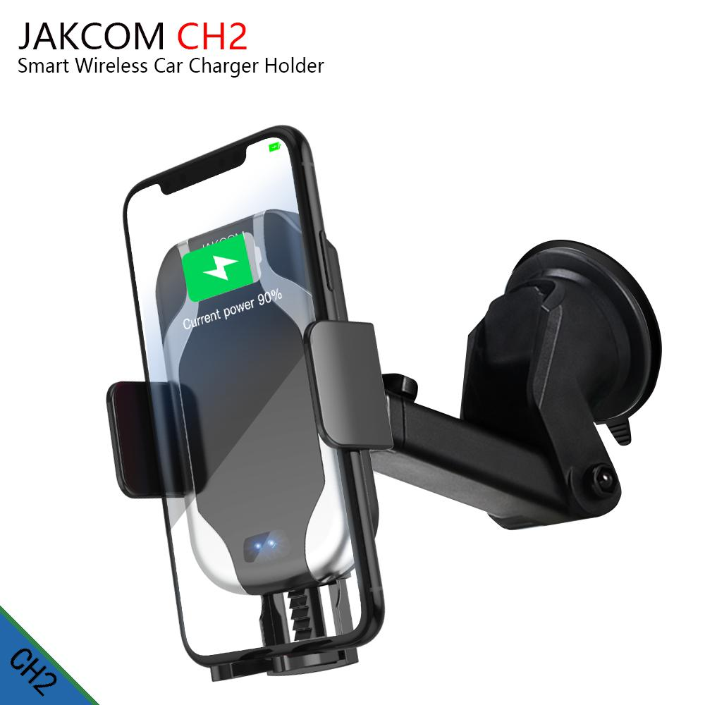 JAKCOM CH2 Smart Wireless Car Charger Holder Hot sale in Mobile Phone Holders Stands as car magnet porta cellulare leagoo s9 Car phone