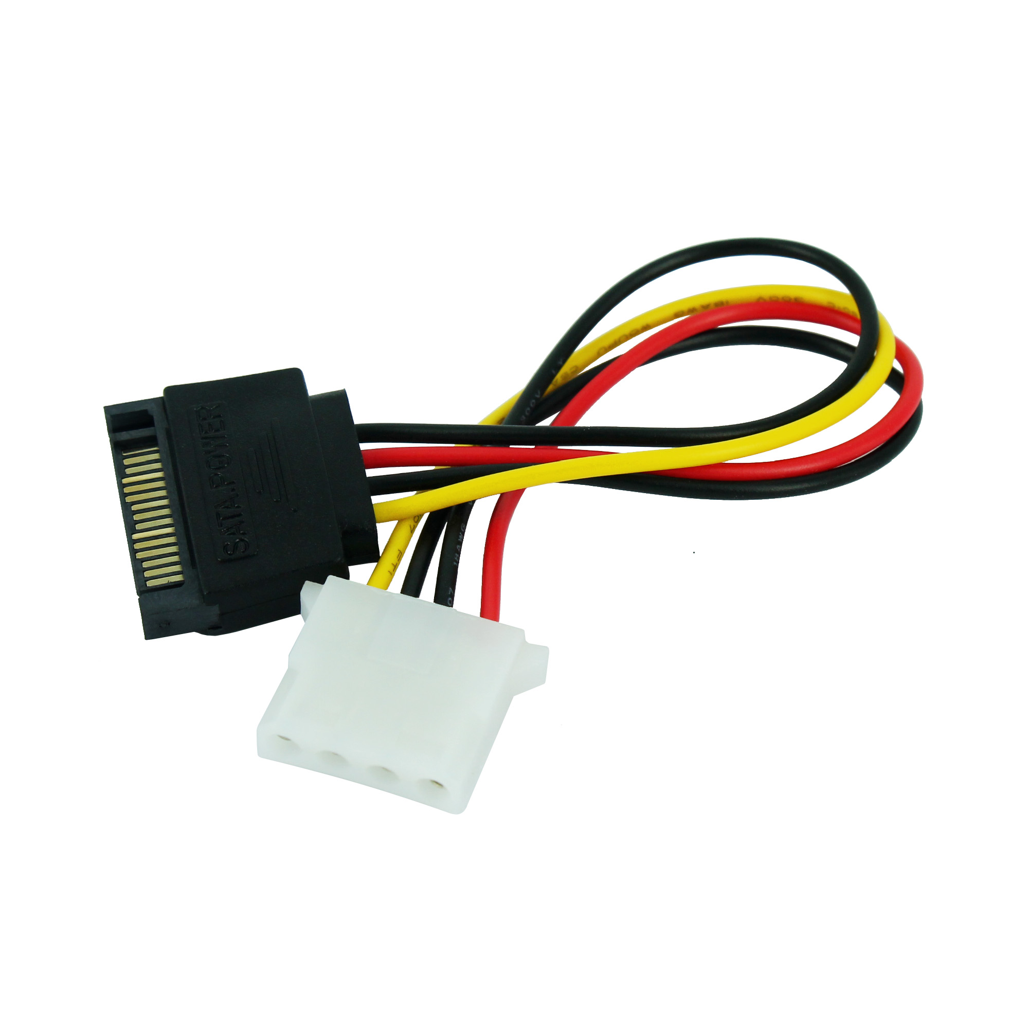 JONSNOW SATA Male To IDE 4 Pin Model Female Power Supply Computer Cable Extention Hard Drive Cable