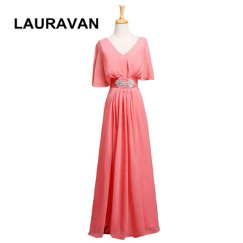 long all watermelon plus size red hot pink blue  cap sleeve prom dress party dress women clothing dresses under 100 2020 gown