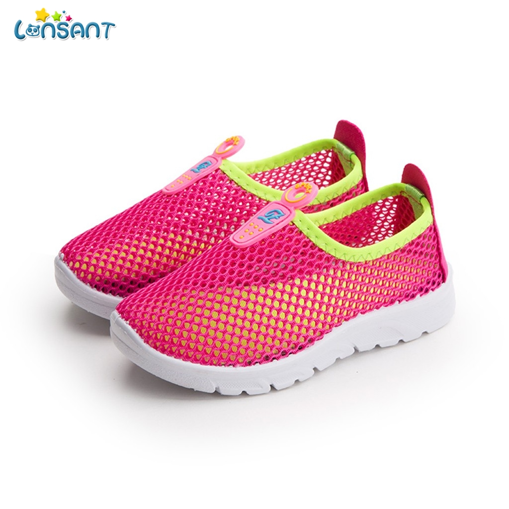 Toddler Infant Kids Baby Girl Boy Mesh Breathable Sport Running Shoes Sneakers T