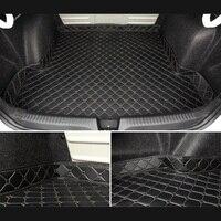 Car Trunk Mats for tesla model s JAC S2 jac s3 jac j3 Accessories Car Cargo Liner Boot Carpet Trunk Mats