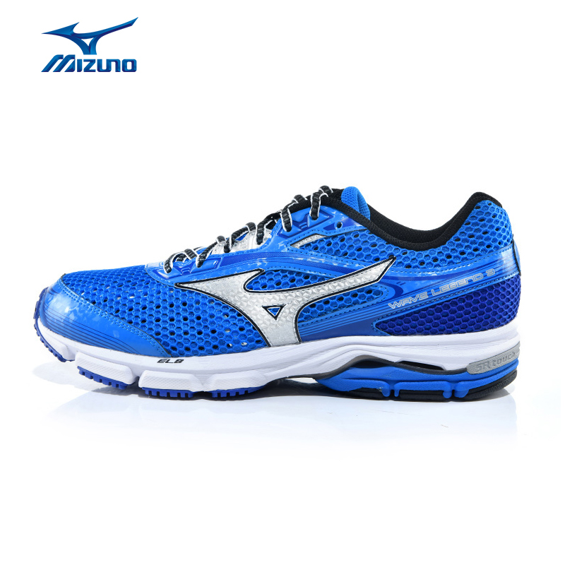 Mizuno Men's WAVE LEGEND 3 Cushioning Breathable Light Weight Jogging Running Shoes Sneakers Sports Shoes J1GC151004 XYP386 mizuno mizuno wave legend