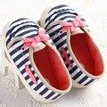 Zapatos de niño A Niño Inferior Suave Raya, Macho Y Hembra Bebé Zapatos de Bebé Del Ocio YEW339