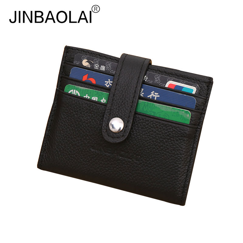 12 Bits New Fashion Leather Credit Card Holder Men Business Cards Cover Purse Card Organ ...