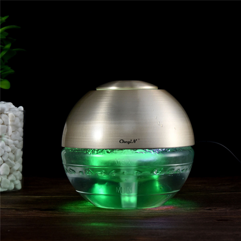 Portable <font><b>USB</b></font> Charging Air Purifier HEPA Filter Remove Dust Smoke Air Cleaner with LED Night Light Essential Oil Diffuser P49 image