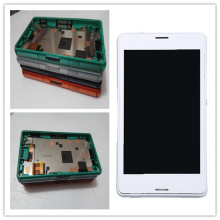 JIEYER 4.6''For SONY Xperia Z3 Compact Display Tested For SONY Xperia Z3 Compact LCD Touch Screen with Frame Z3 Mini D5803 D5833 white touch screen lcd display for sony xperia z3 mini compact d5803 d5833 digitizer assembly bezel frame tools free shipping