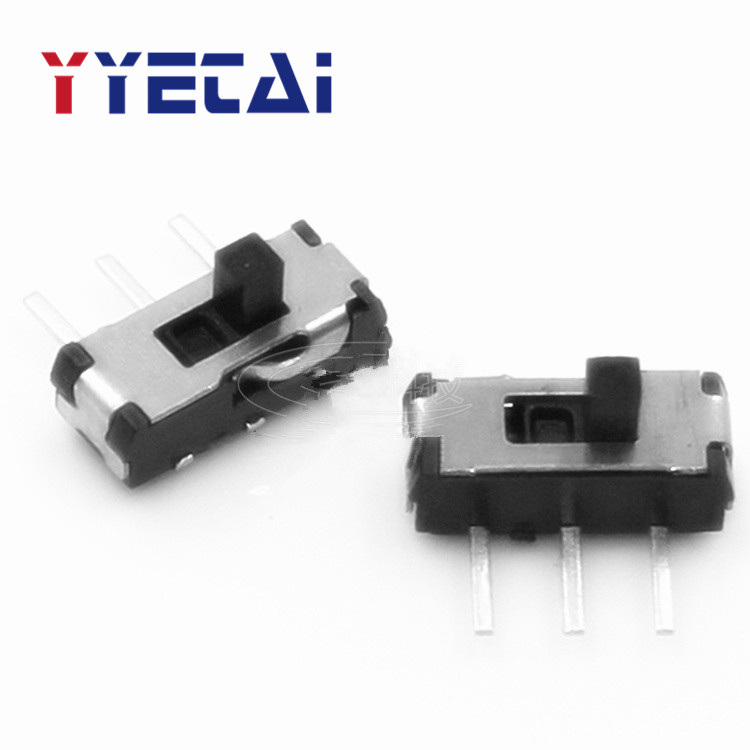 YongYeTai MSS22D18 Three-Prong Action Switch 3P Horizontal Switch Side Toggle Switch Slide Switch Free shipping