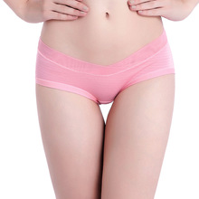 V-type low waist striped pregnant women underwear fashion briefs breathable