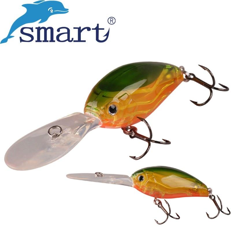 где купить SMART Crankbait 63mm/19.2g Floating4.0m Hard Fishing Lure Crank Baits Isca Artificial Para Pesca Vobler Leurre Souple Peche по лучшей цене