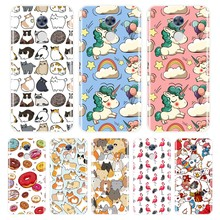 Cute Unicorn Phone Case For Huawei Honor 4C 5C 6C 6A Pro Silicone Case Soft Cover For Honor 6 5A 4X 5X 6X 6A 4C 5C 6C Pro Case(China)