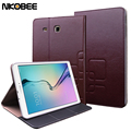 NKOBEE Luxury Tablet For Samsung Tab E 9.6 Leather Flip Book Stand Cover Case For samsung Galaxy Tab E 9.6 T560 T561 Protective