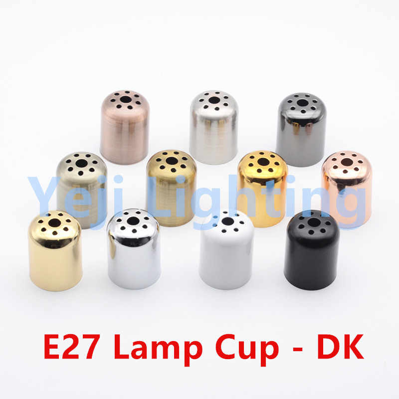 E27 lamp cup E27 socket lamp holder cover cap jacket cover cup retro led pendant light lamp base fittings lighting accessories