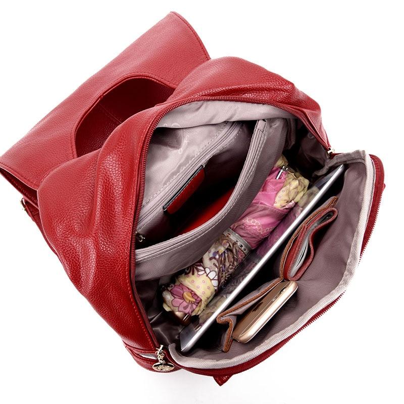 marca de luxo de couro Bag Fashion Estilo : Backpack