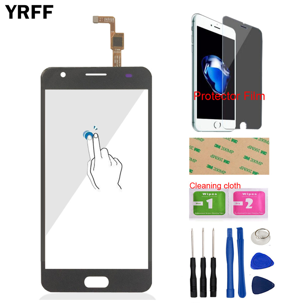 5.5'' Mobile Phone Front Touch <font><b>Screen</b></font> For <font><b>Oukitel</b></font> <font><b>K8000</b></font> K 8000 Touch Panel Sensor Touch <font><b>Screen</b></font> Digitizer Tools Protecotr Film image
