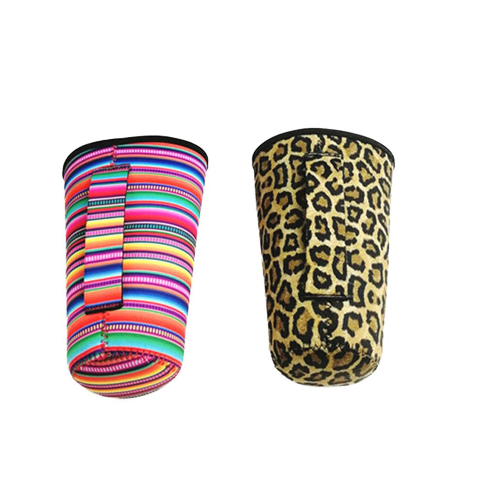 Pouch Sleeve-Bag-Case Tumbler-Cup Mermaid-Water-Bottle-Cover Rainbow-Sunflower Leopard-Print