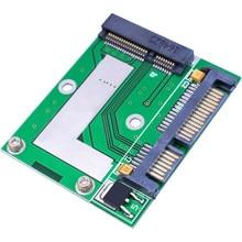 PCI-E MSATA SSD до 2,5 »SATA 6,0 gps конвертерная плата адаптера модуль платы для компьютера кабельные разъемы