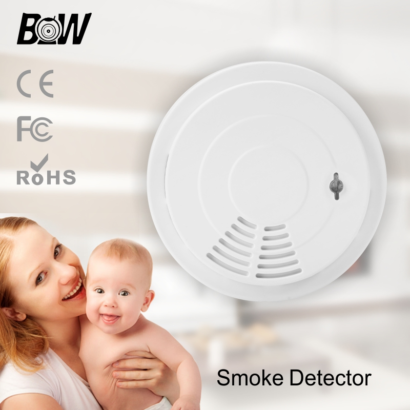 ФОТО Wi-fi Smoke Alarm Wireless Fire Smoke Detectors Alarm Function Home Security Alarm Device Linkage BW Smart IP Camera BW-SMD001