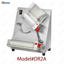DR2A electric commercial stainless steel pizza dough roller/dough sheeter machine/dough press machine
