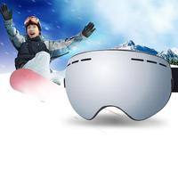 Men Women Spherical Ski Eyewear Double Len UV Protection Anti fog Glasses Skiing Snowboarding Goggles Double Layer Ski Googles