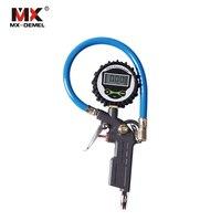 Digital Car Truck Air Tire Vehicle Tester Tyre Inflation Gun Monitoring Tool Pressure Inflator Gauge LCD Display Dial Meter