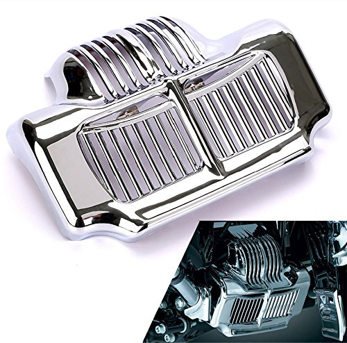 Motorcycle Chrome Stock Oil Cooler Cover For Harley Road Kings Road Glides Electra Glides 2011 2012 2013 2014 2015 abs plastic new silver stock oil cooler cover for harley fit touring electra road street glide 2011 2012 2013 2014 2015