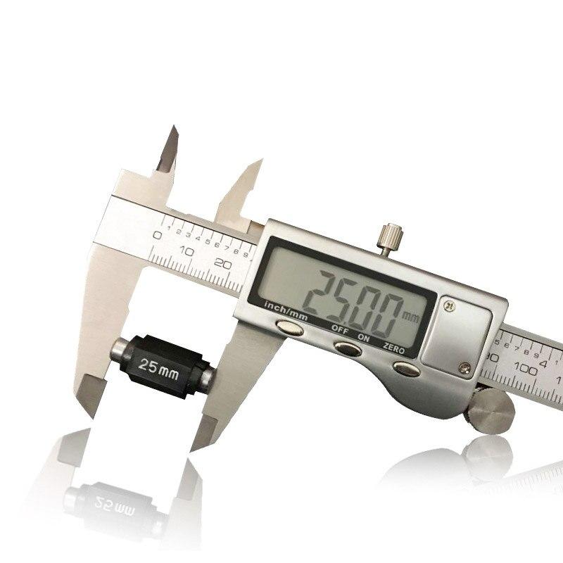 """Pied étrier numérique en acier inoxydable, outil de mesure de 6 """"150mm pied d'instrument outil de mesure de coulisse pieds en métal"""