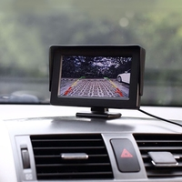 Car Monitor 4 3 Inch Car High Definition Car Monitor With Adjustable Angle Holder Support Reverse