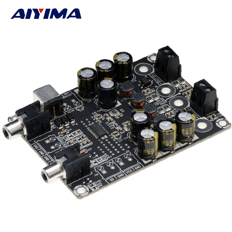 aiyima tpa3110 amplifier board class d 2x15w hifi 2 0 dual channel low power digital audio. Black Bedroom Furniture Sets. Home Design Ideas