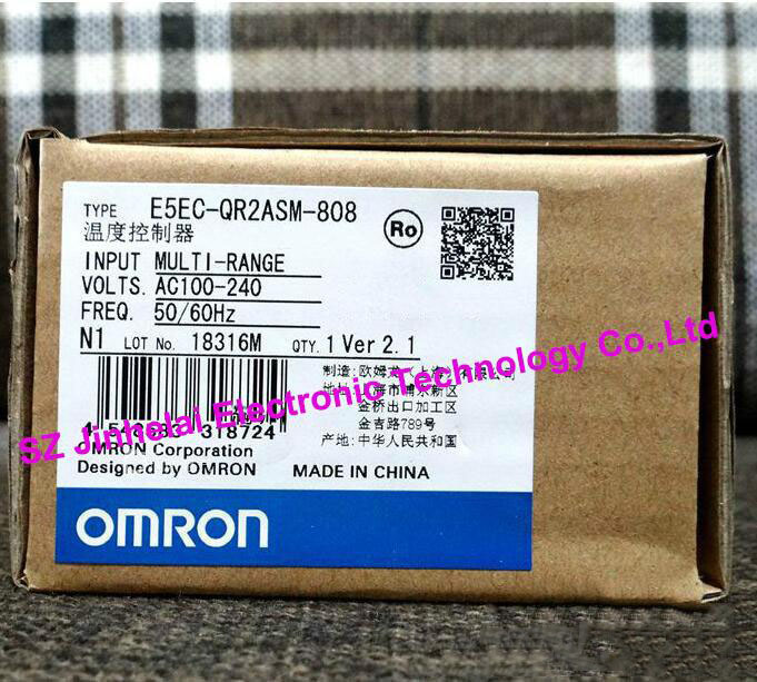 100%Authentic original E5EC-QR2ASM-808, E5EC-RR2ASM-808 OMRON Temperature controller AC100-240V все цены