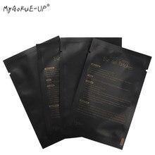 1000 pairs الرموش ورقة بقع نصائح ملصق يلتف تحت رفادة عين حزمة سوداء لأدوات ماكياج رمش تمديد