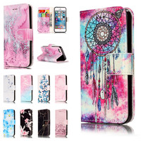 For IPhone SE 5S Etui Cases For Apple IPhon 5 S 5SE Coque Cover Granite Marble