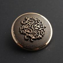 Retro Metal Button Antique Brass Copper Jeans Coat Jacket Clothes Decorative Buckle Sewing 50 pcs/lot