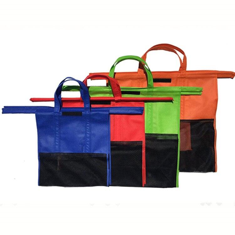 Reusable Eco-friendly Cart Supermarket Shopping Bags 5