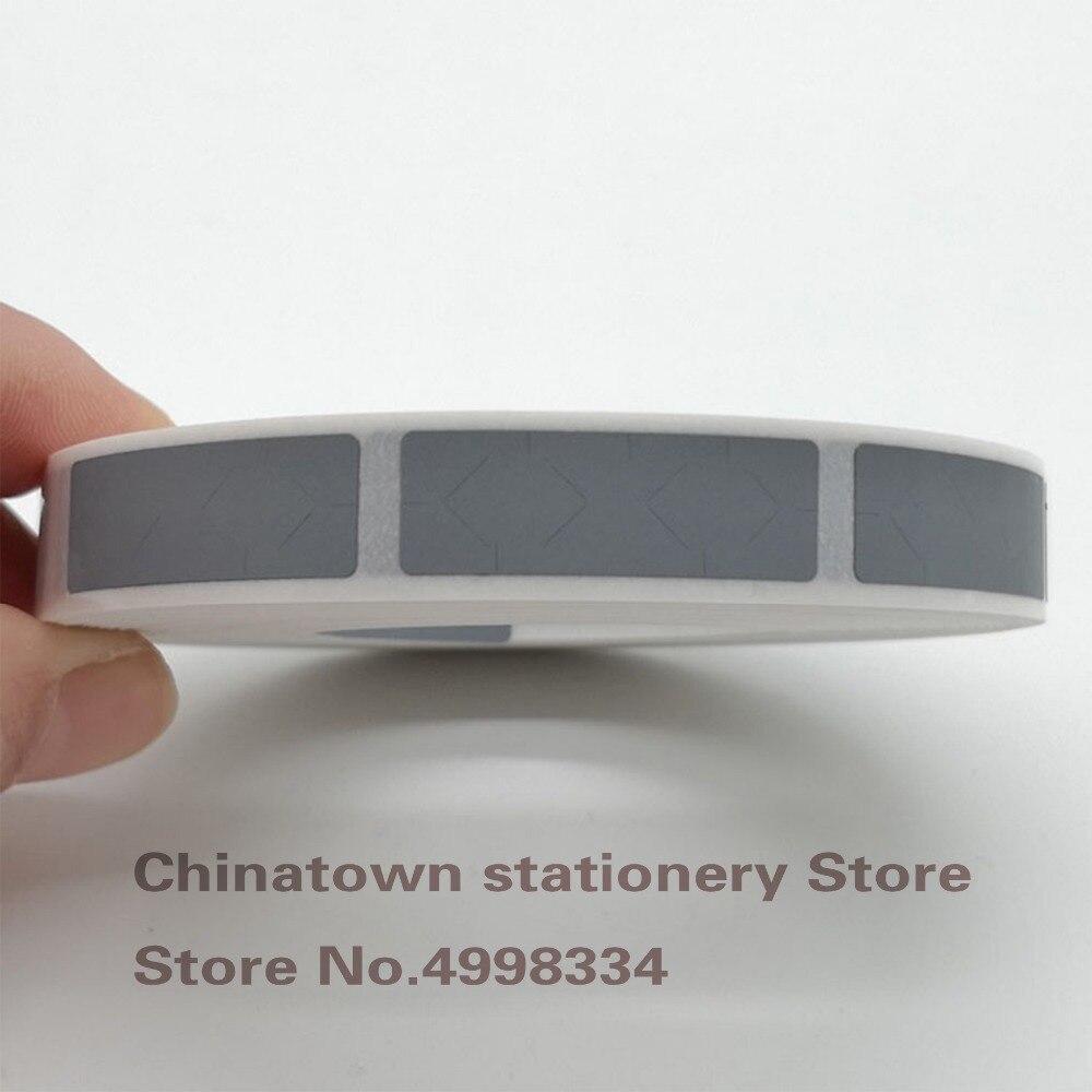 1000PCS 10mm*30mm Gray Adhesive Scratch Off Sticker DIY Manual Hand Made Scratch Card