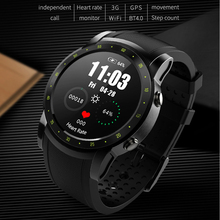 HW1 Smart Watch 2018 Men Support SIM Card with Heart Rate tracker Monitor Pedometer 3G WIFI Bluetooth Smartwatch GPS Wristwatch цена