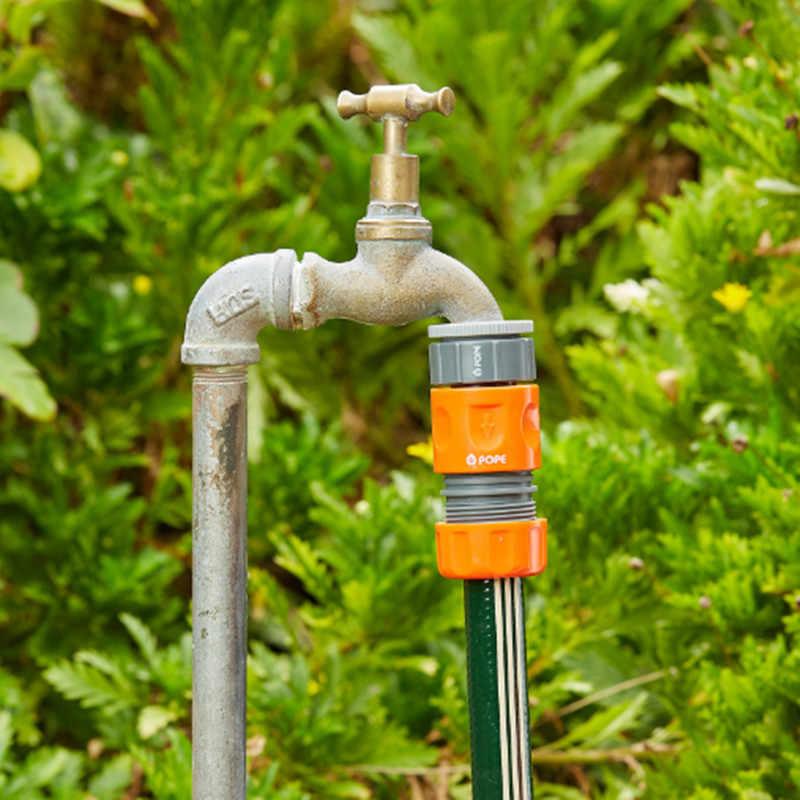 شحن سريع 3 قطعة 1/2 ''و 3/4'' الإناث صنبور لولبي موصل ل BSP صنبور لولبي حديقة موصلات المياه لوازم حديقة
