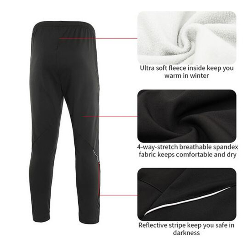 ARSUXEO Windproof Waterproof Winter Cycling Jacket Set Warm Up Fleece MTB Bike Bicycle Jacket Pants Suit Clothing Set in Cycling Sets from Sports Entertainment