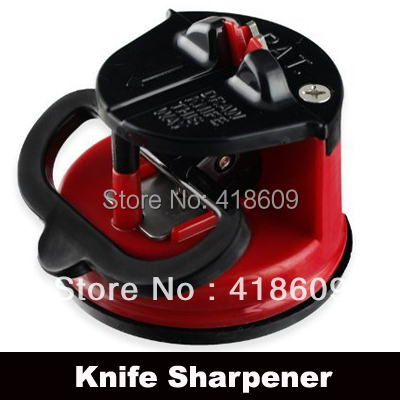 3 x NEW Brand Kitchen safety knife sharpener with secure suction pad