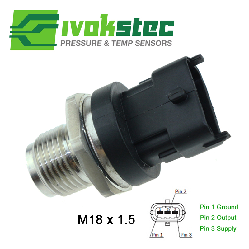 Car Parts Diesel Fuel Pressure Sensor For Chevy Chevrolet Aveo