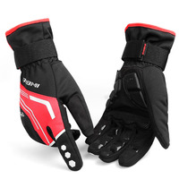 INBIKE Winter Cycling Gloves Gel Padded Thermal Full Finger Bike Bicycle Gloves Windproof Touch Screen Men
