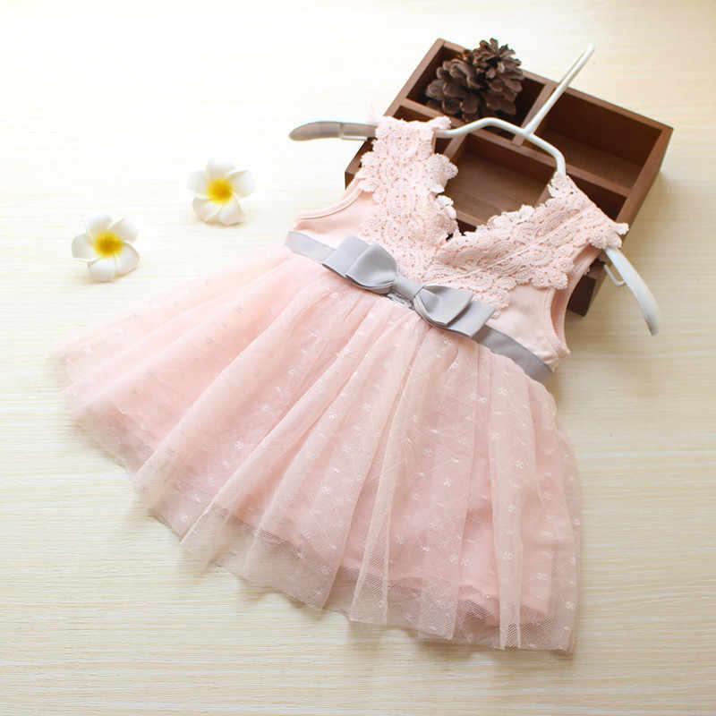 956e4f76b0d Младенческой Новогоднее платье розовый платья для новорожденных Детские  вечернее платье розничная продажа летняя одежда для девочек