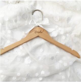Вешалка для свадебного платья, вешалка для невесты, подарок для невесты, свадебные вечерние вешалки, Свадебные вешалки, подарки для подружки невесты - Цвет: One Bride Cherry