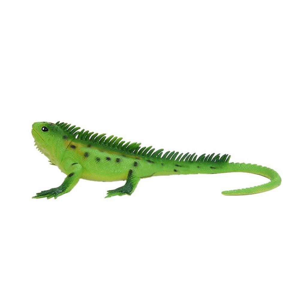 WOTT Vivid Reptile Animal PVC Lizard Model Figure Educational Toy - Green