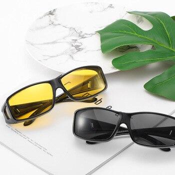 7220c56a8b Gafas de sol de visión nocturna gafas de moda de nuevo estilo de conducción nocturna  para gafas de sol de conductor 150