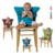 Portátil Infantil Assento Da Cadeira de Jantar Cinto Impulsionador Assento de Segurança para Crianças Cadeira de Alimentação Harness Criança Assento de Segurança Do Carro Do Envoltório Do Estiramento Cintos